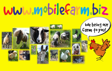 Click here to go to Mobile Farm - We bring our farm to you!